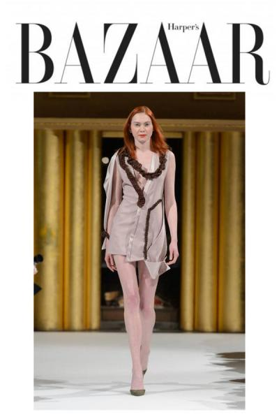 Fashion Week Patuna Couture - Hairstylist Elisabete Godart - Mephistopheles productions Paris - Harper's BAZAAR
